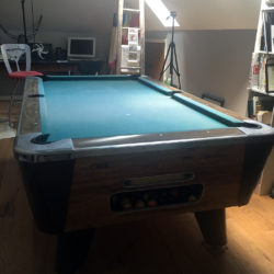 FREE Solid Bar Style Pool Table