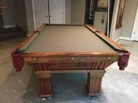 1903 B.A. Stevens Slate Pool Table