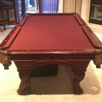 Used Pool Tables For Sale - Claw foot pool table