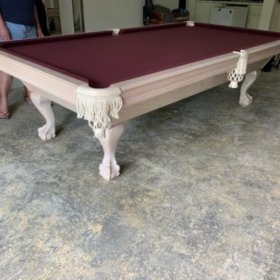 9 foot Crown Leisure Pool Table For Sale