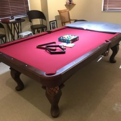 Like new Olhausen table and all accessories.
