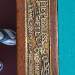 8' antique pool table for sale. Great condition.