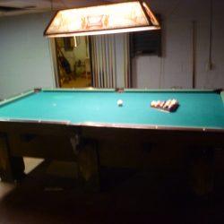 pool table old brunswick large needs tlc