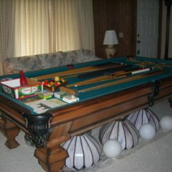 Golden West Billiard Supply Pool Table