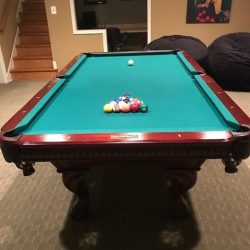 8' Presidential Pool Table and Accessories for Sale
