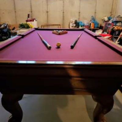 Slate Pool Table (SOLD)