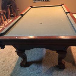 Championship Billiard Felt Colors - Move a Pool Table?